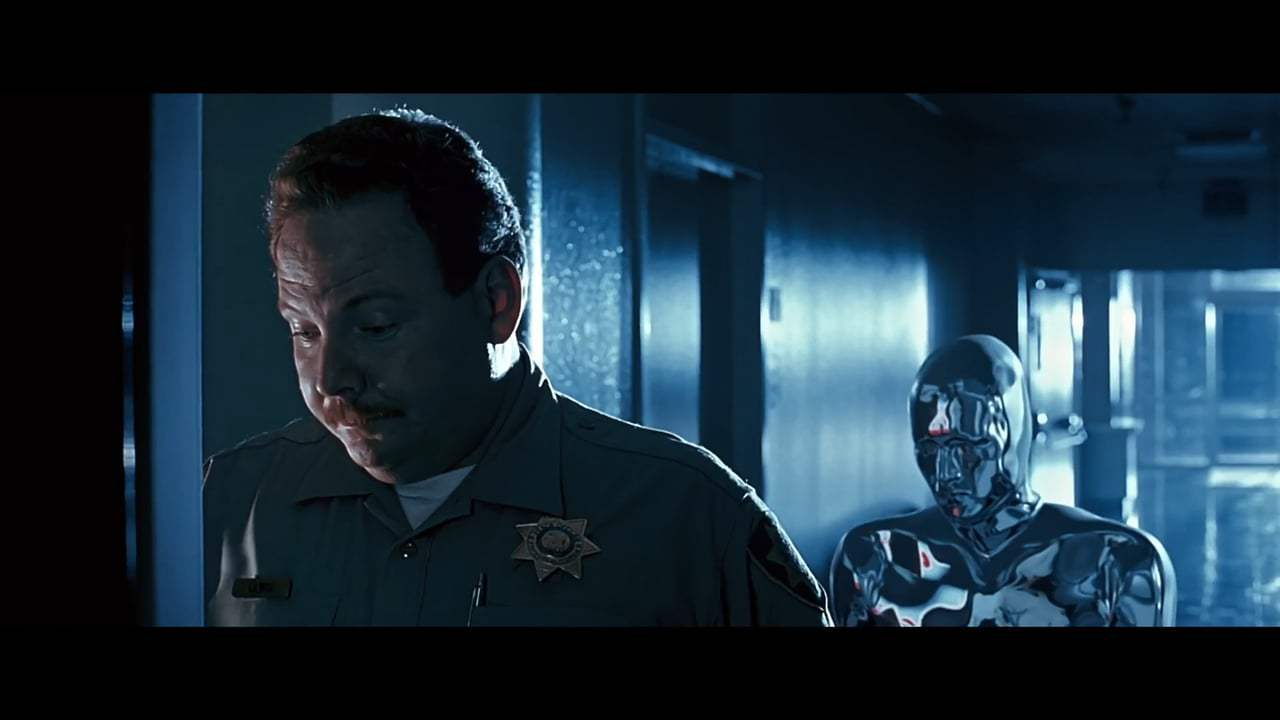 Terminator 2: Judgment Day Featurette - Robert Patrick (1991) Screen Capture #1