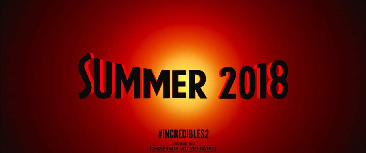 The Incredibles 2 Teaser Trailer (2018) Screen Capture #4