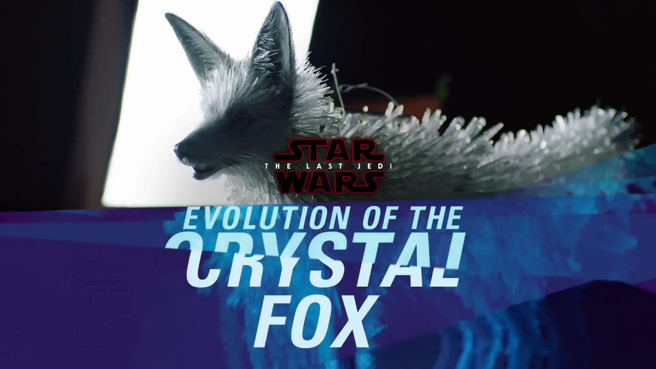Star Wars: Episode VIII - The Last Jedi Featurette - The Crystal Fox (2017) Screen Capture #1