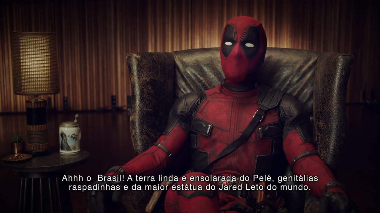 Deadpool 2 Viral - Brazil Comic Con Tattoos (2018) Screen Capture #1