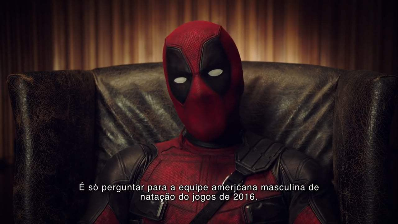 Deadpool 2 Viral - Brazil Comic Con Tattoos (2018) Screen Capture #4