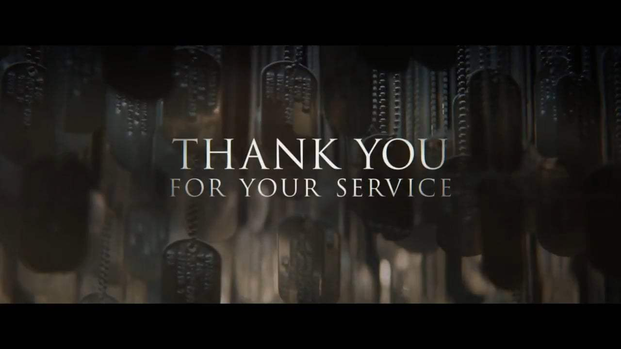 Thank You for Your Service TV Spot - Own It (2017) Screen Capture #4