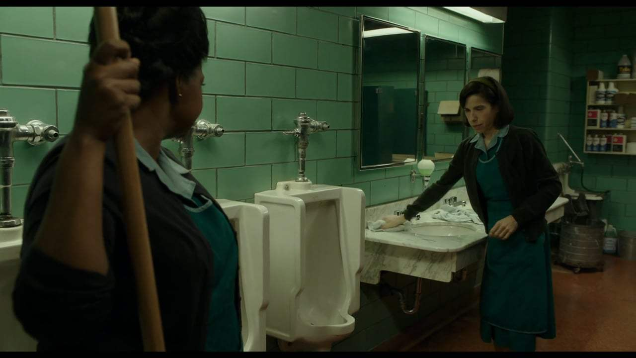 The Shape of Water (2017) - Weakness in Character Screen Capture #1