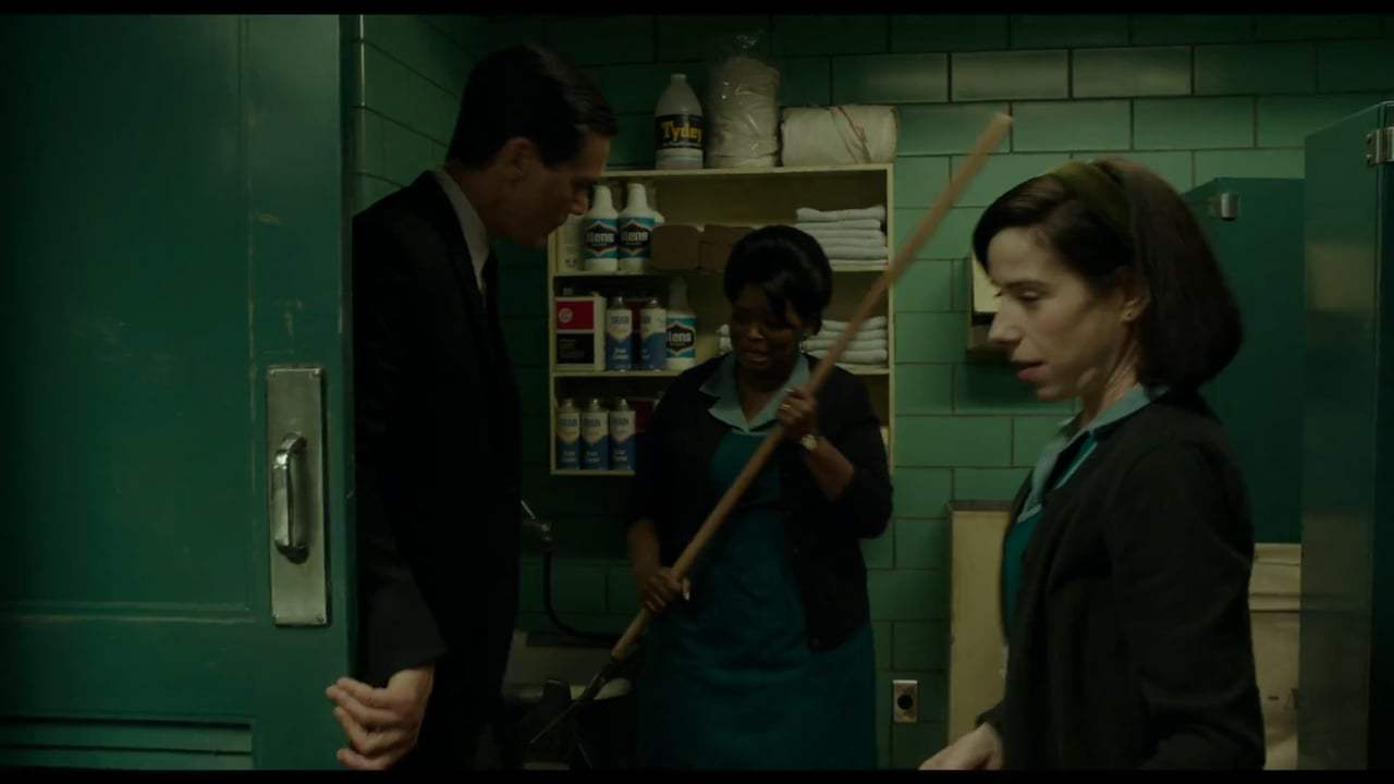 The Shape of Water (2017) - Weakness in Character Screen Capture #3