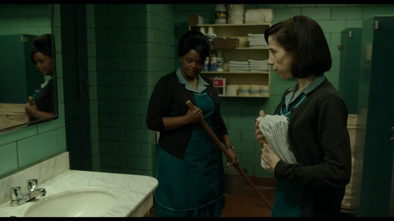 The Shape of Water (2017) - Weakness in Character Screen Capture #4