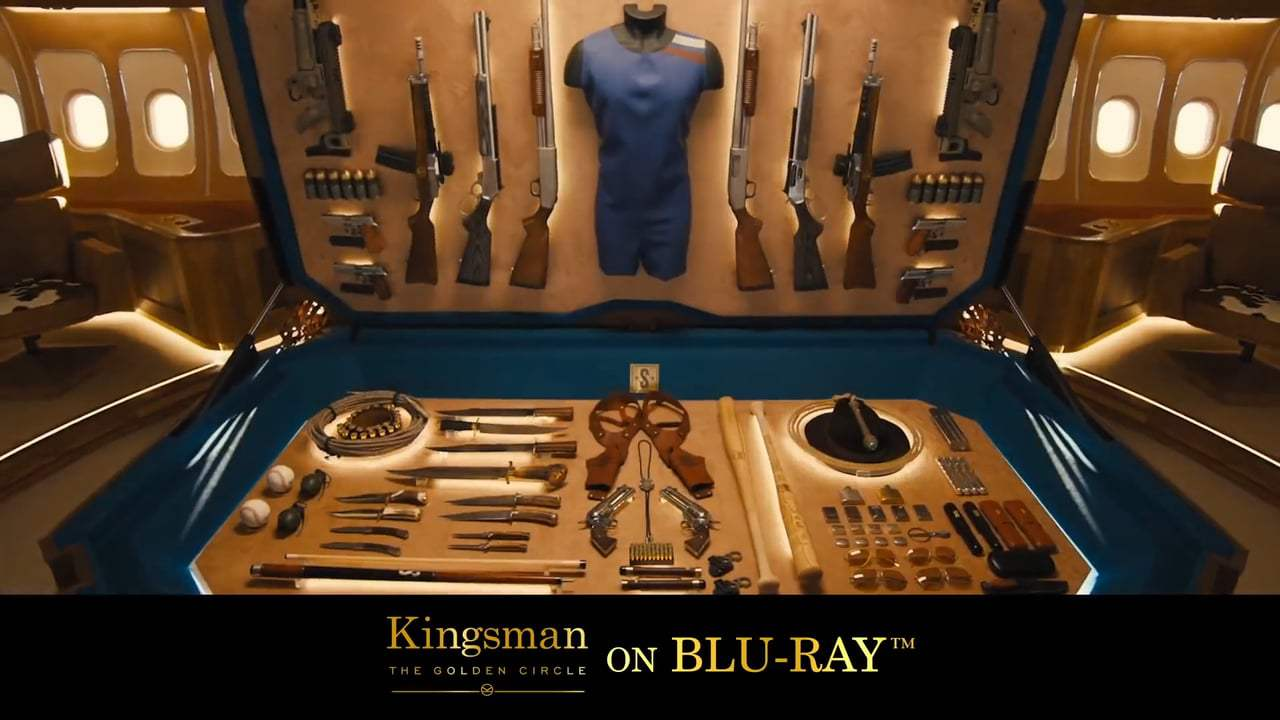 Kingsman: The Golden Circle TV Spot - James Bond On Laughing Gas (2017) Screen Capture #1
