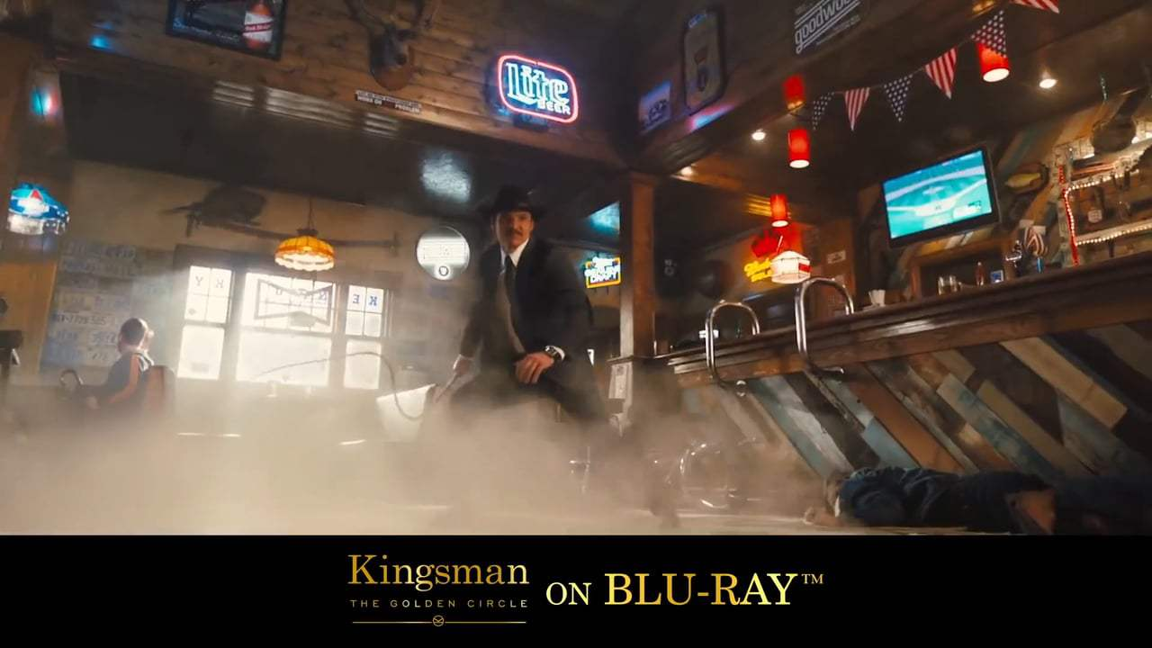 Kingsman: The Golden Circle TV Spot - James Bond On Laughing Gas (2017) Screen Capture #2