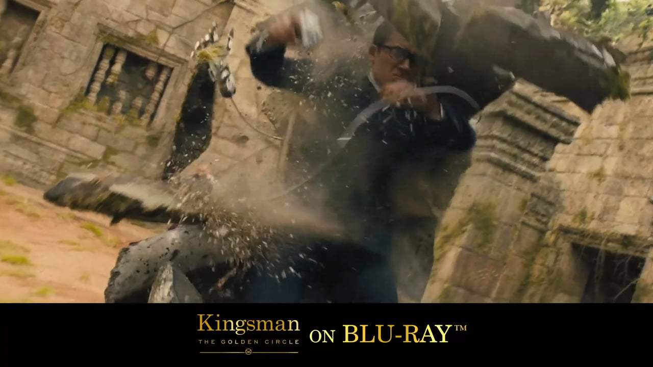 Kingsman: The Golden Circle TV Spot - James Bond On Laughing Gas (2017) Screen Capture #3