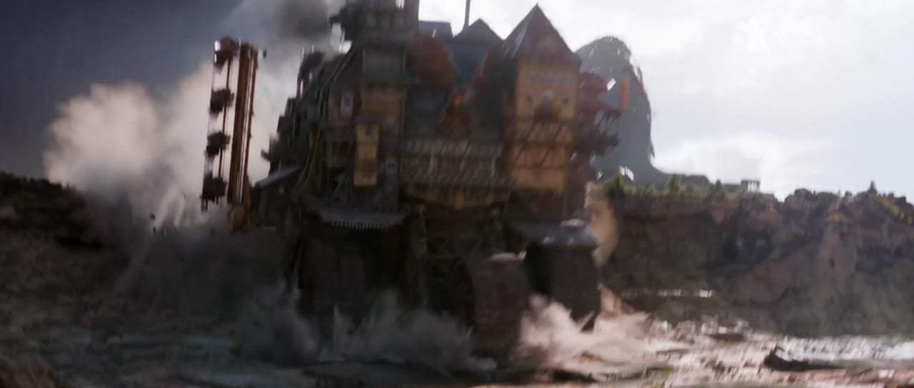 Mortal Engines Teaser Trailer (2018) Screen Capture #3