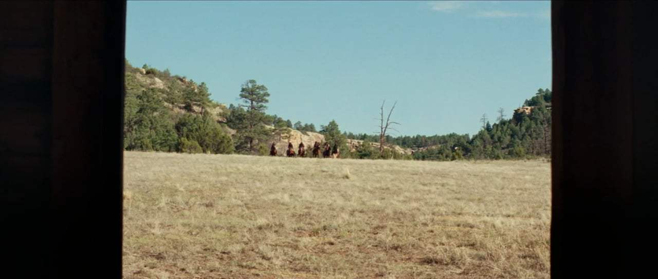 Hostiles (2018) - The Cabin Attack Screen Capture #2