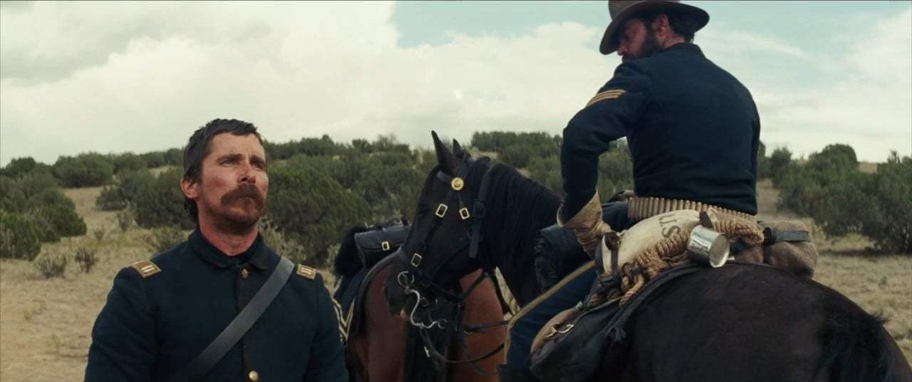 Hostiles (2018) - I Do Not Fear Death Screen Capture #1