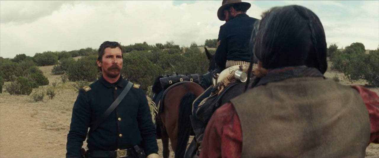Hostiles (2018) - I Do Not Fear Death Screen Capture #3