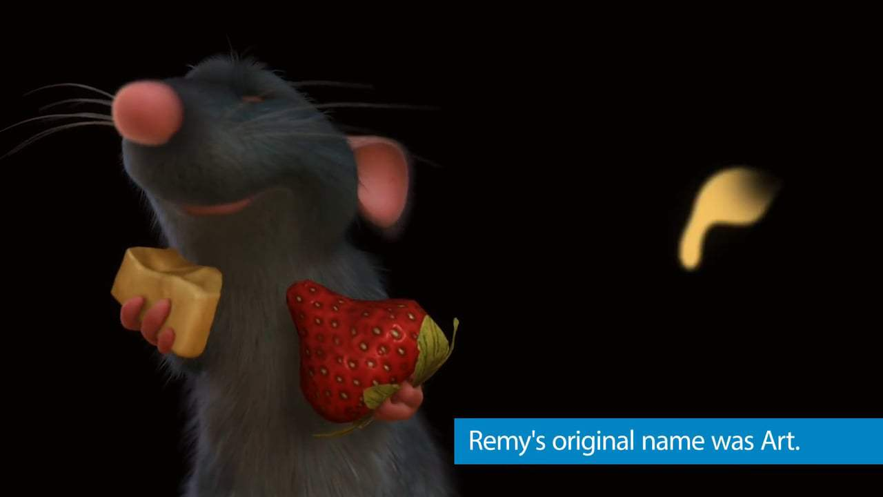 Ratatouille Featurette - Facts (2007) Screen Capture #1