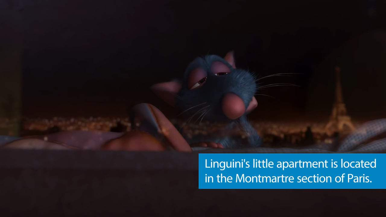 Ratatouille Featurette - Facts (2007) Screen Capture #3