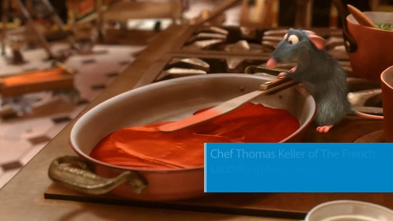Ratatouille Featurette - Facts (2007) Screen Capture #4