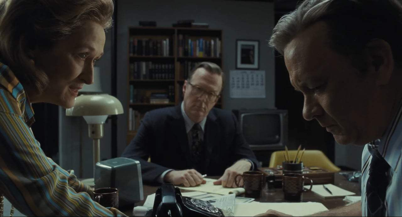 The Post Featurette - Meryl Streep and Tom Hanks (2018) Screen Capture #1