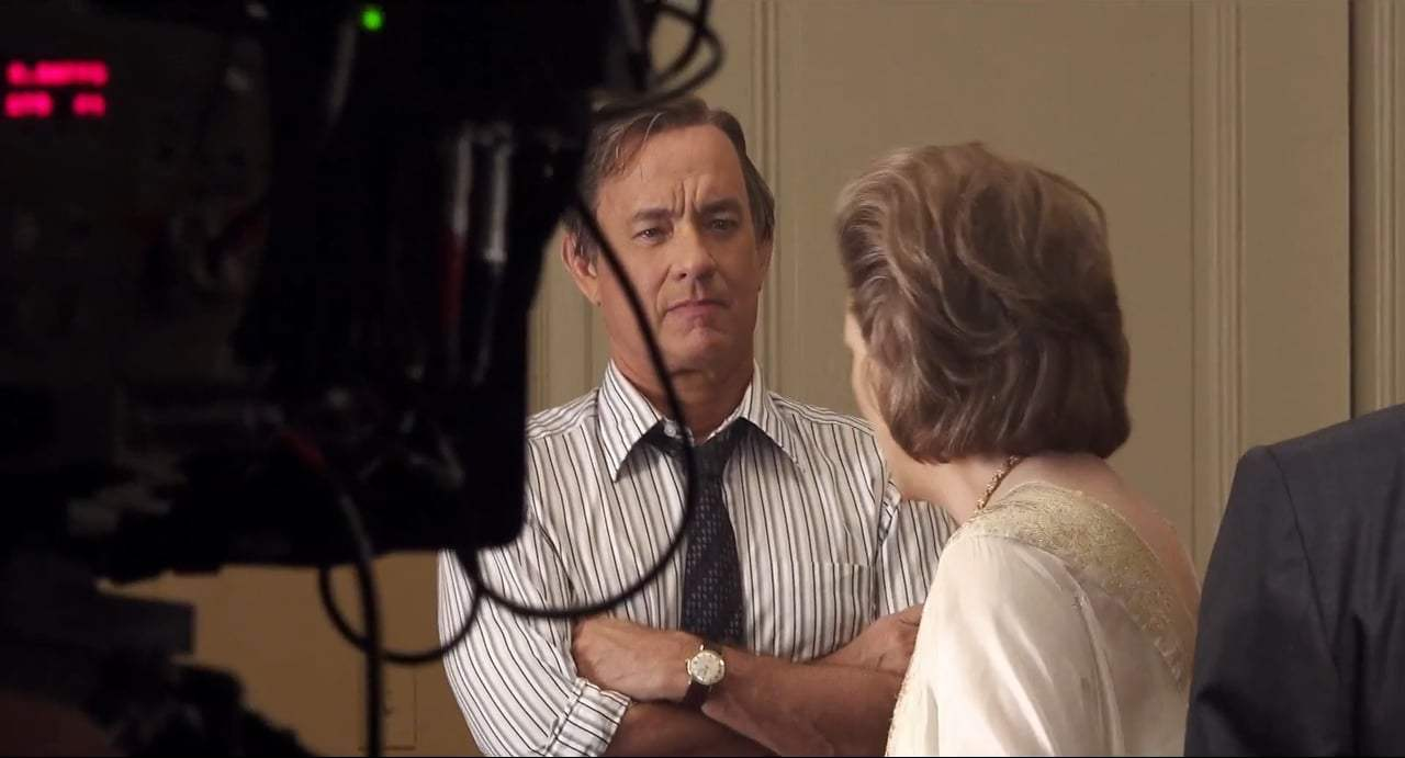 The Post Featurette - Meryl Streep and Tom Hanks (2018) Screen Capture #3