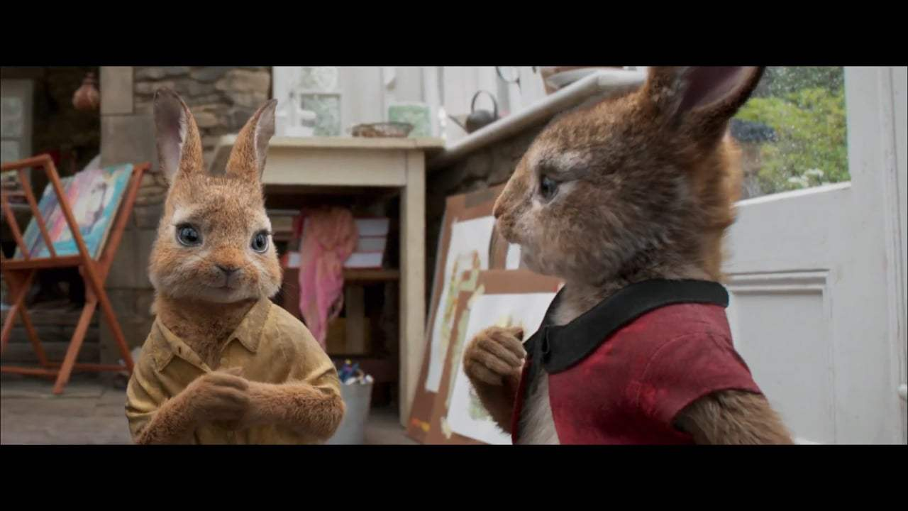 Peter Rabbit Vignette - Margot Robbie (2018) Screen Capture #2
