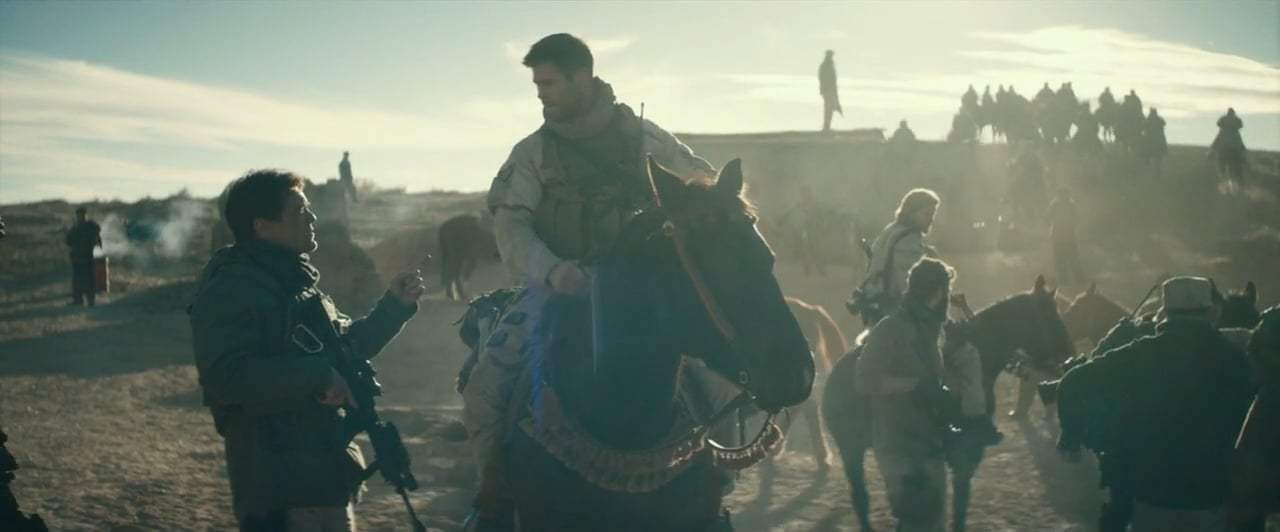 12 Strong (2018) - Who's Ridden Before? Screen Capture #3