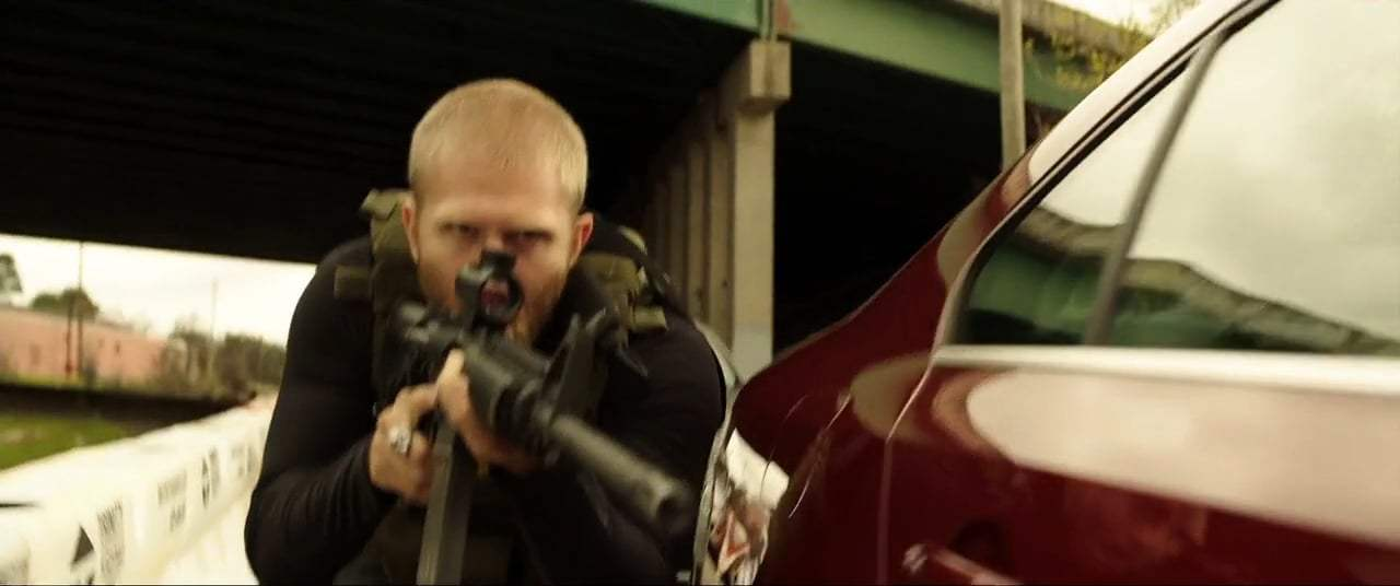 Den of Thieves (2018) - We Got 'Em Pinched Screen Capture #3