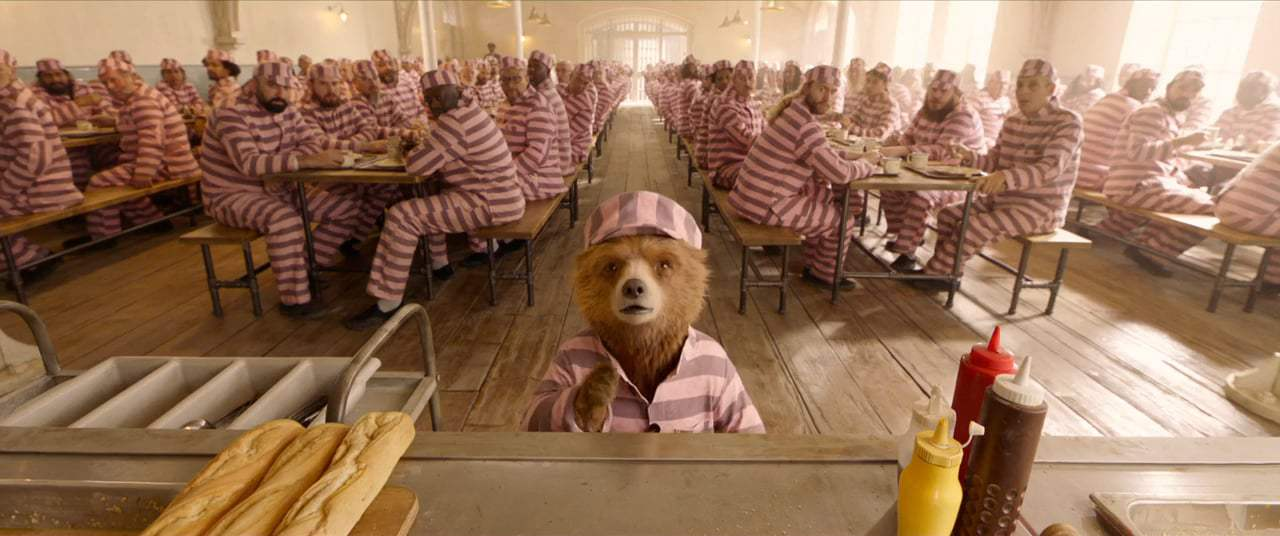 Paddington 2 (2018) - Prison Canteen Screen Capture #1