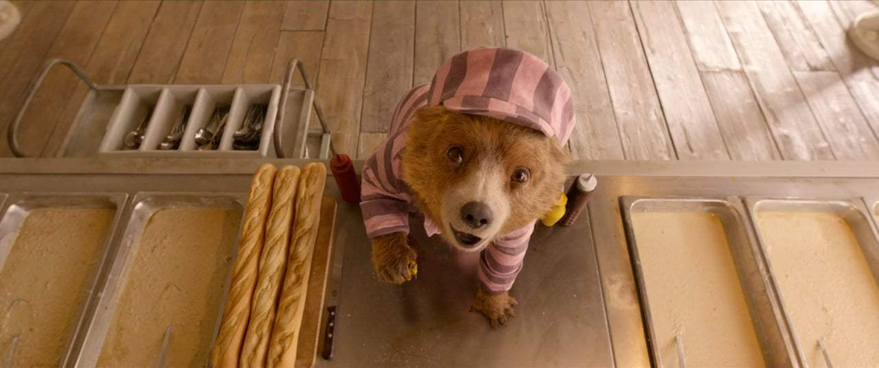 Paddington 2 (2018) - Prison Canteen Screen Capture #4