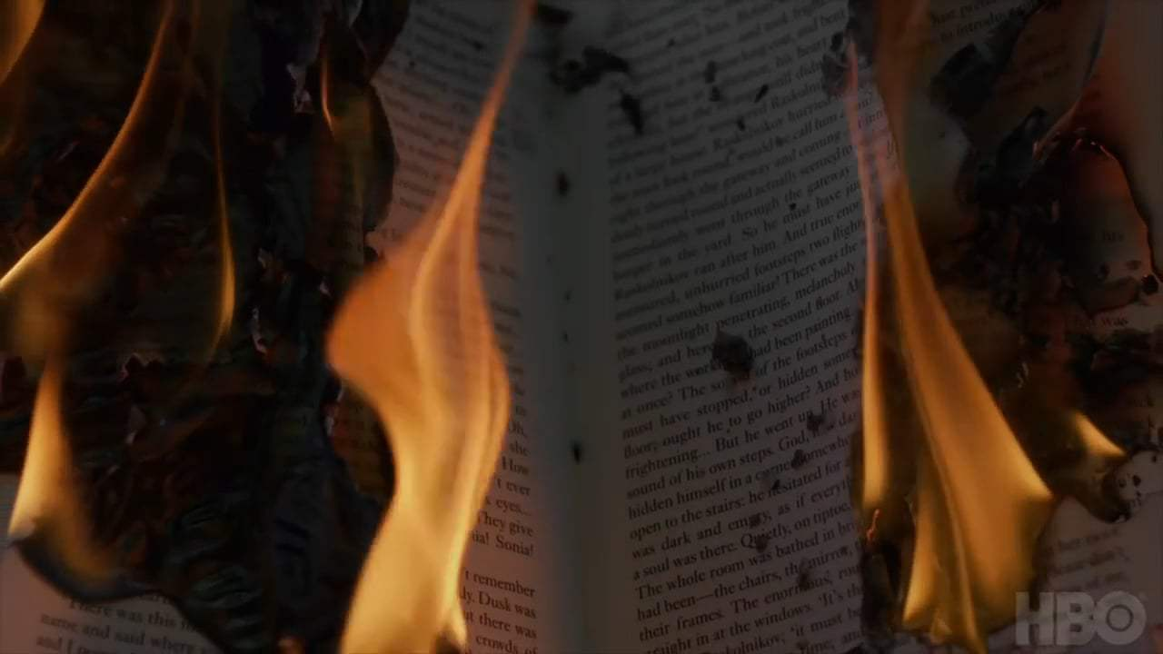 Fahrenheit 451 Teaser Trailer (2018) Screen Capture #1