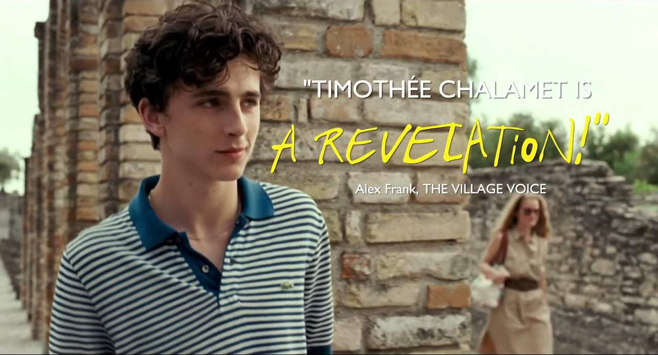 Call Me by Your Name TV Spot - Now Playing (2017) Screen Capture #1