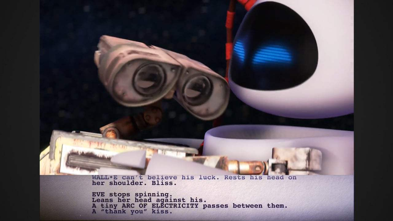 Wall•E Featurette - From Script to Screen: Floating in Space (2008) Screen Capture #1