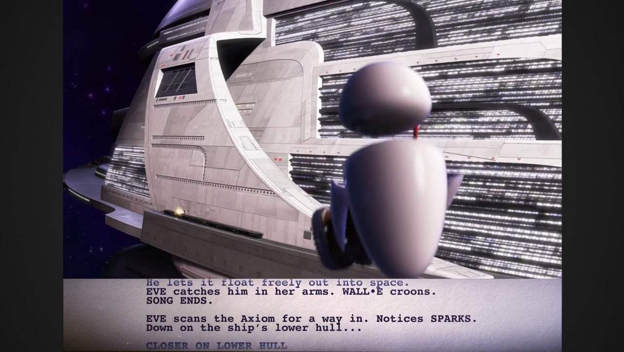 Wall•E Featurette - From Script to Screen: Floating in Space (2008) Screen Capture #4