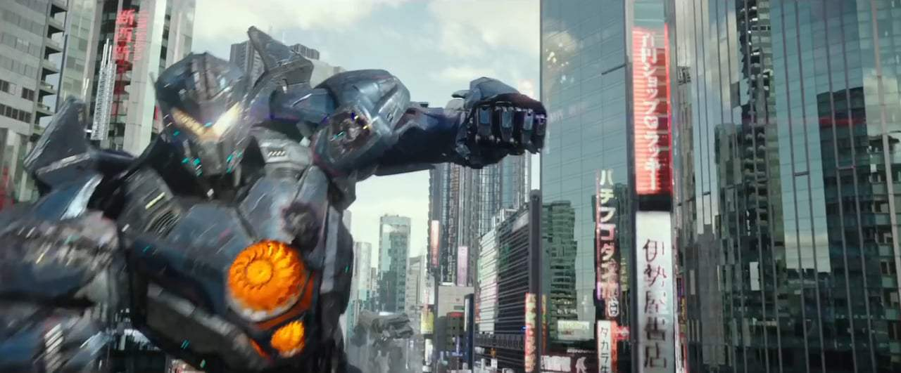 Pacific Rim Uprising Feature Trailer (2018) Screen Capture #4