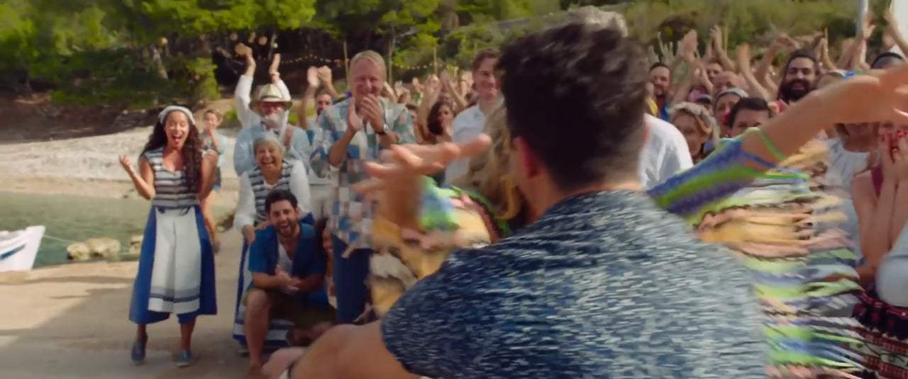 Mamma Mia! Here We Go Again International Trailer (2018) Screen Capture #2