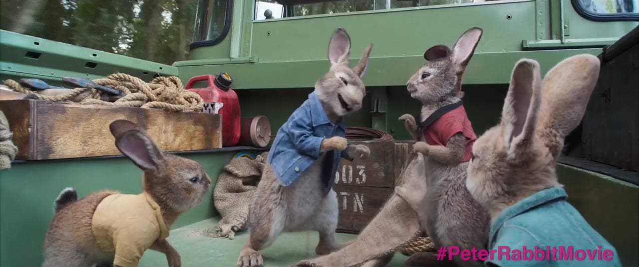 Peter Rabbit (2018) - Wet Willy Screen Capture #2