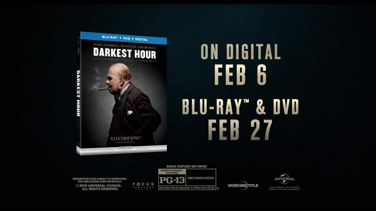 Darkest Hour TV Spot - Own It (2017) Screen Capture #3