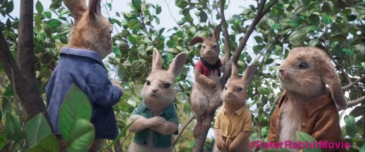 Peter Rabbit (2018) - Individual Talents Screen Capture #4