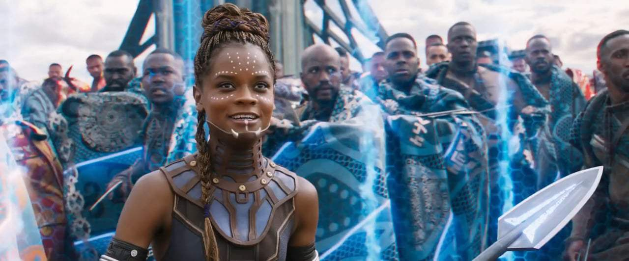 Black Panther TV Spot - Pray (2018) Screen Capture #3