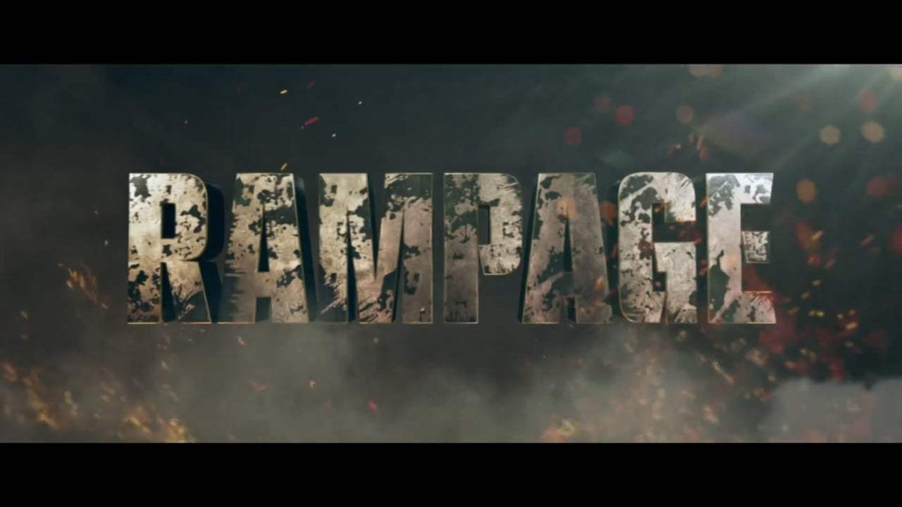 Rampage Theatrical Trailer (2018) Screen Capture #4