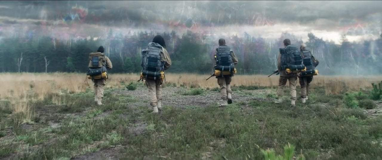Annihilation (2018) - Entering the Shimmer Screen Capture #1
