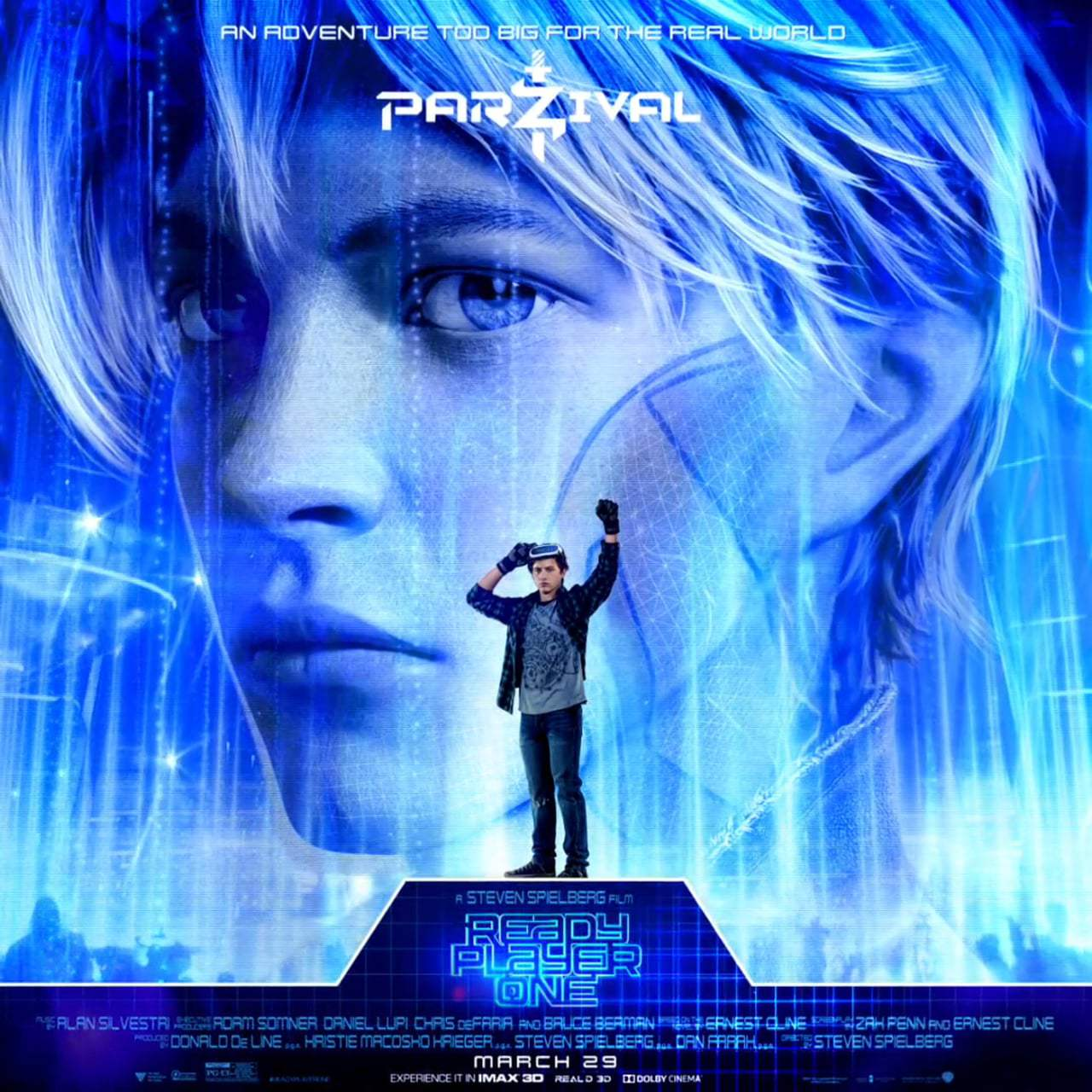 Ready Player One Character Motion Posters (2018) Screen Capture #2