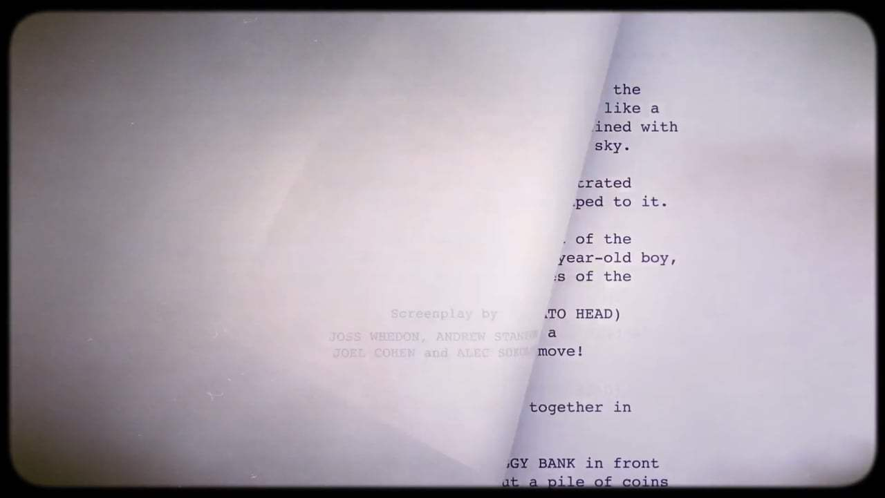Toy Story Featurette - From Script to Screen: Can Fly (1995) Screen Capture #1