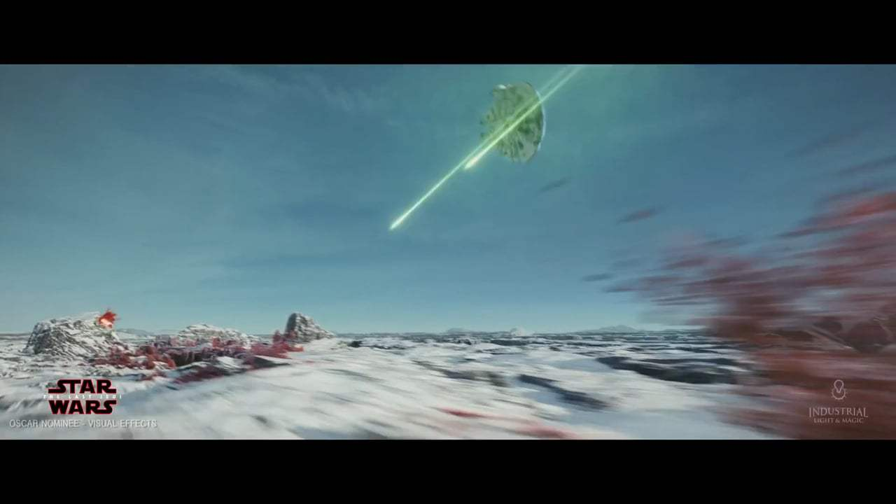 Star Wars: Episode VIII - The Last Jedi Featurette - Battle of Crait (2017) Screen Capture #2