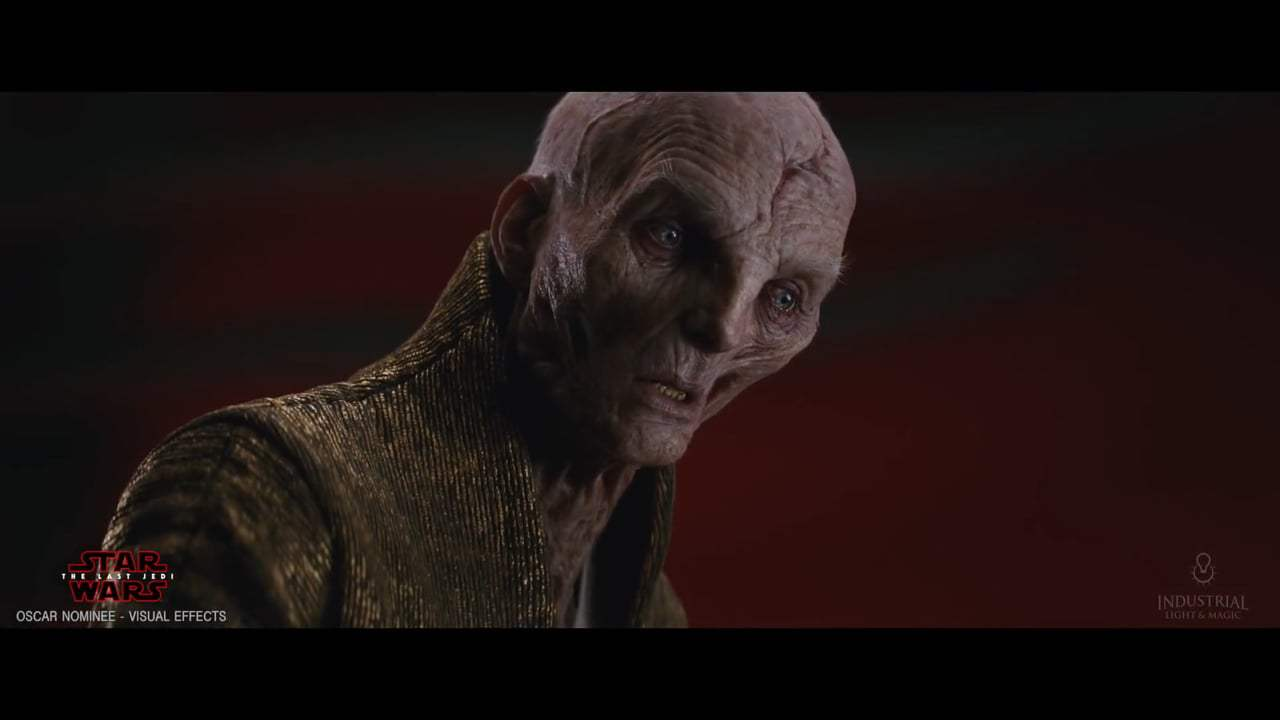 Star Wars: Episode VIII - The Last Jedi Featurette - Creating Supreme Leader Snoke (2017) Screen Capture #1