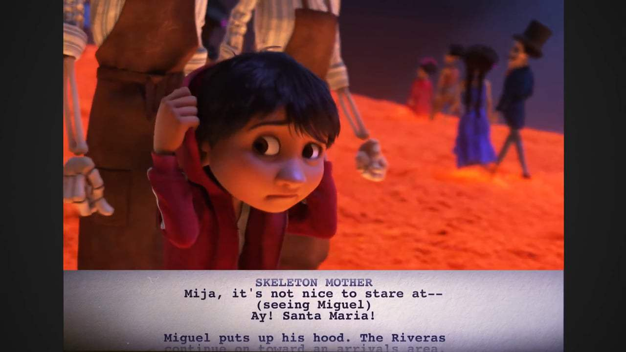 Coco Featurette - From Script to Screen: Miguel Enters the Land of the Dead (2017) Screen Capture #2