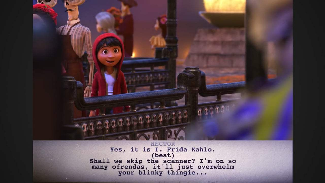 Coco Featurette - From Script to Screen: Miguel Enters the Land of the Dead (2017) Screen Capture #3
