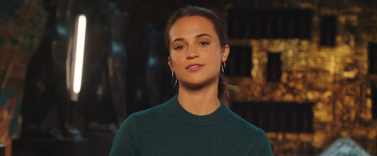Tomb Raider Featurette - Alicia Vikander (2018) Screen Capture #1
