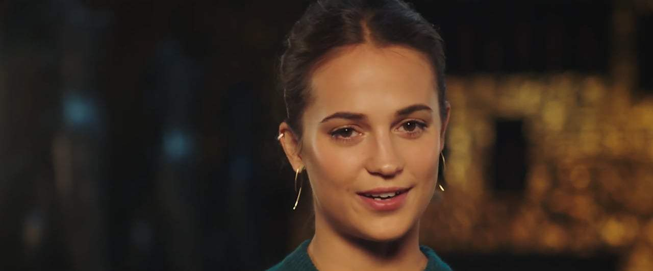 Tomb Raider Featurette - Alicia Vikander (2018) Screen Capture #4