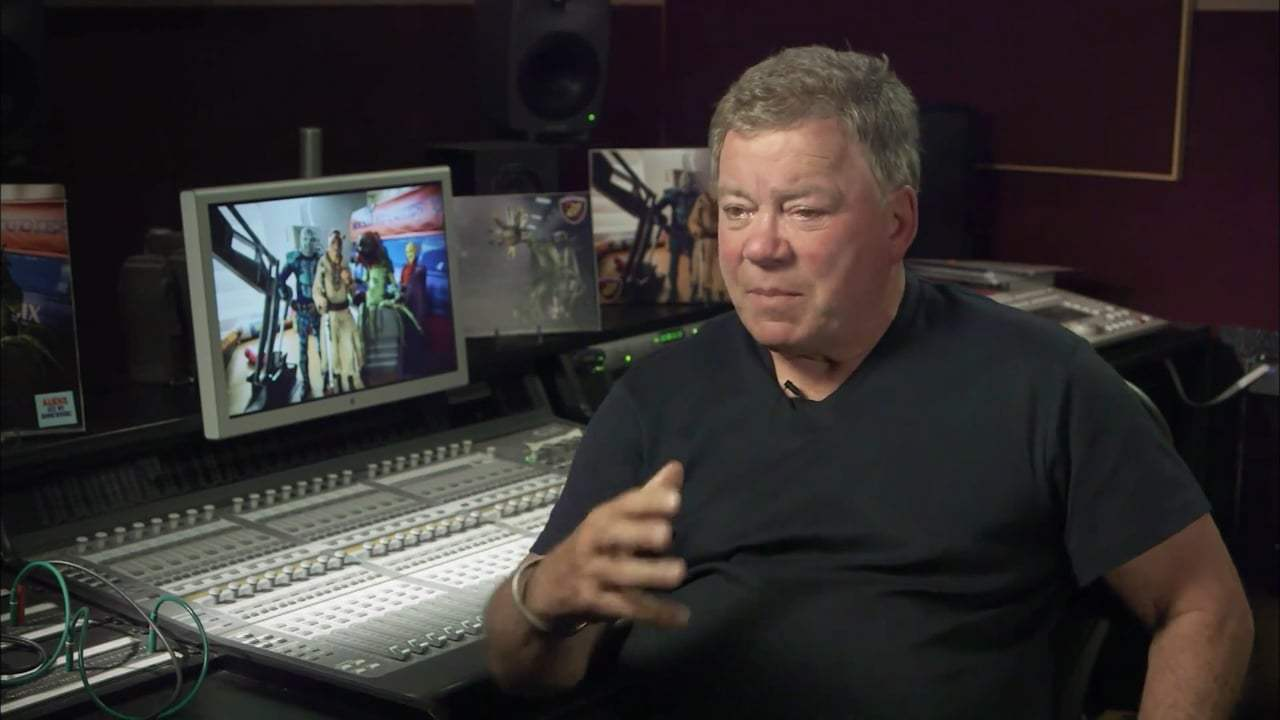Aliens Ate My Homework Featurette - William Shatner (2018) Screen Capture #3