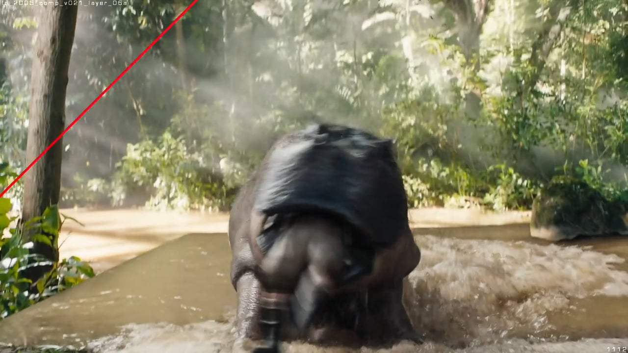 Jumanji: Welcome to the Jungle Featurette - Giant Hippo (2017) Screen Capture #2