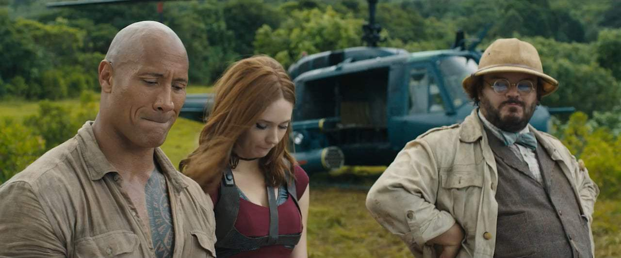 Jumanji: Welcome to the Jungle Featurette - Blooper Reel (2017) Screen Capture #1