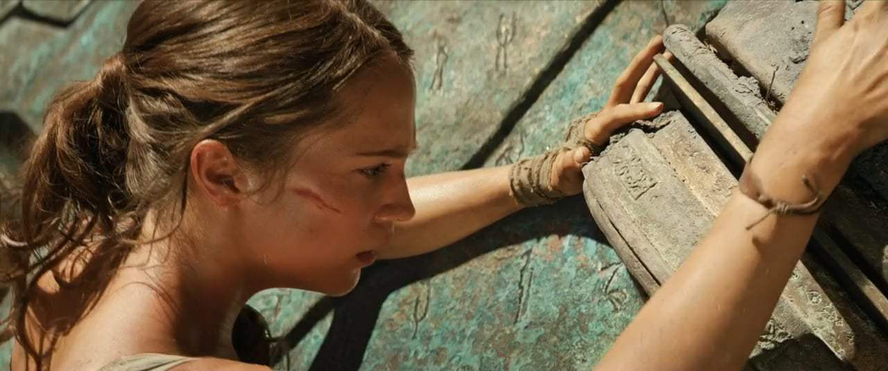 Tomb Raider (2018) - Puzzle Door Screen Capture #2
